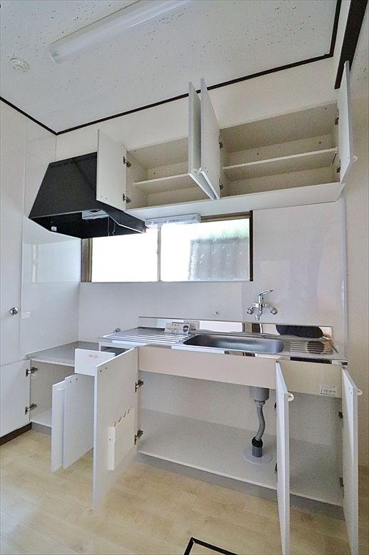 タップリ収納のあるキッチン