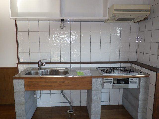 画一的なキッチンセットからグレードアップ