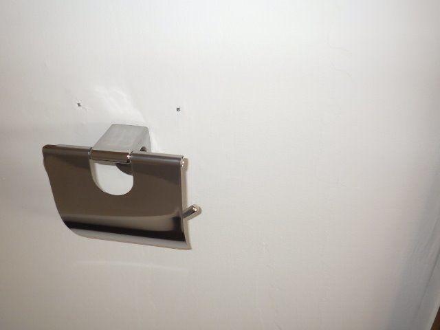 トイレのペーパーホルダー