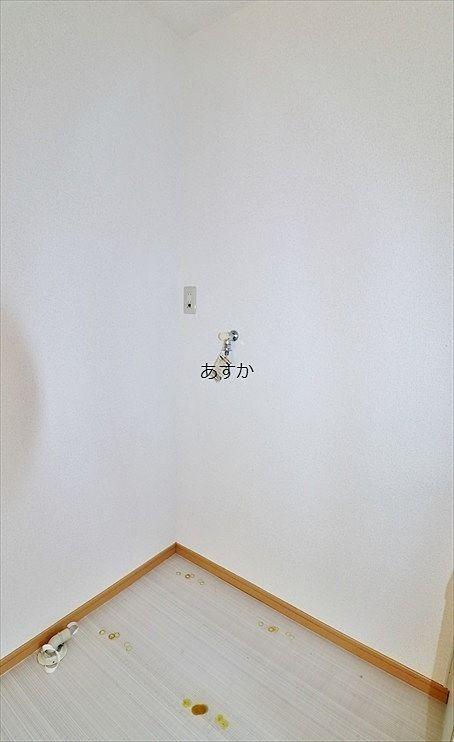 人気の室内洗濯機置場