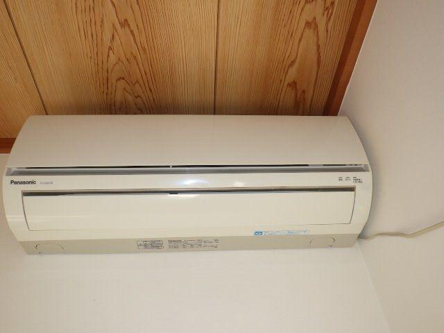 2階角部屋和室のエアコン