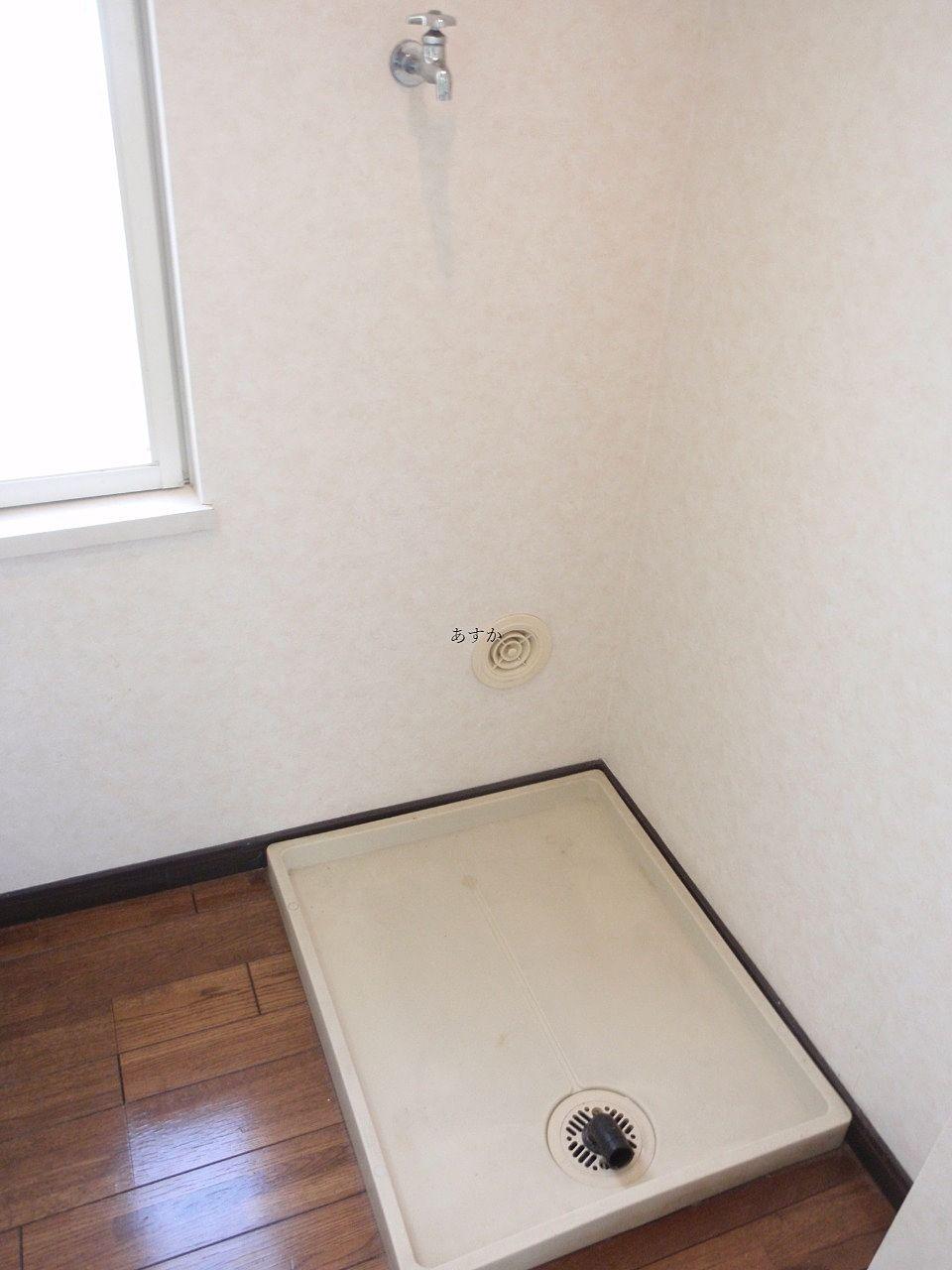 室内洗濯機置き