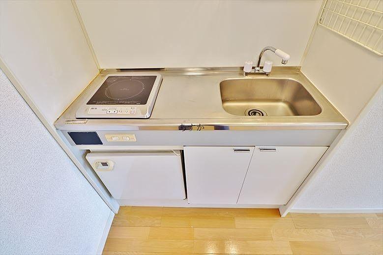 調理スペースもあるキッチン