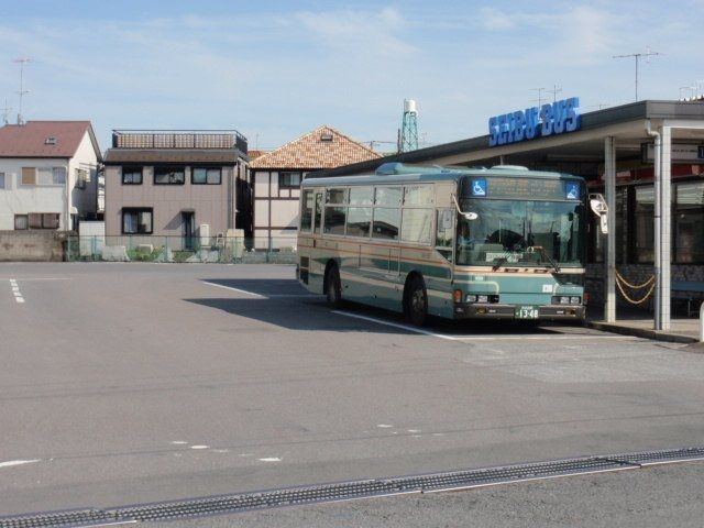 新座駅、市役所、志木駅などバス便多数