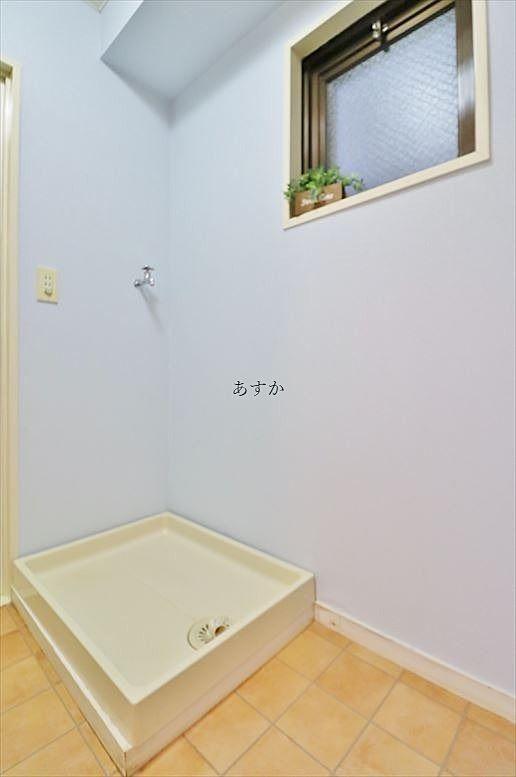 何と言っても室内洗濯機置場は人気