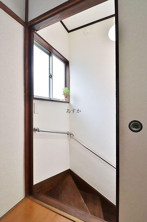 2階の階段入り口部分
