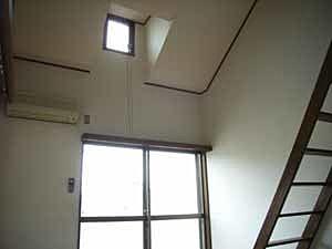 高さのある室内
