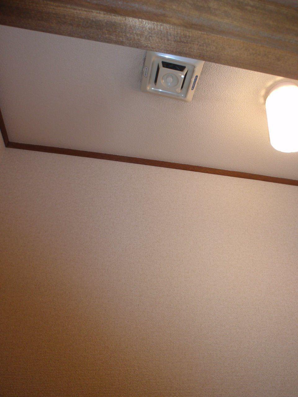天井内部の水が段々階下へ伝う
