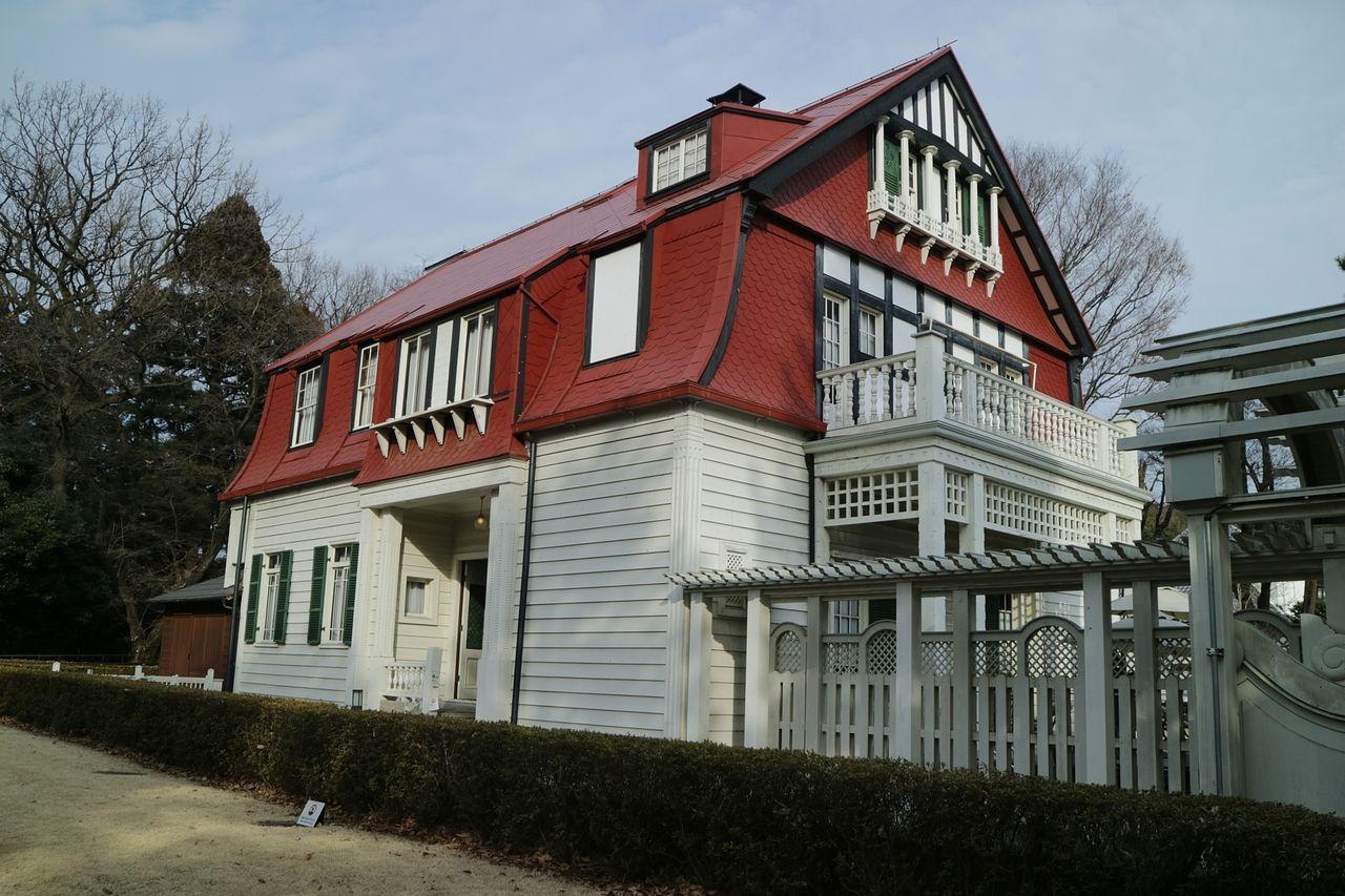 明治にドイツ人設計家により建てられた洋館