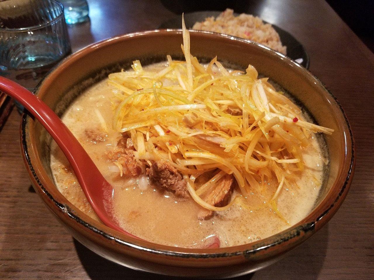イオン近くの蔵出し味噌ラーメンの店 麺場壱歩