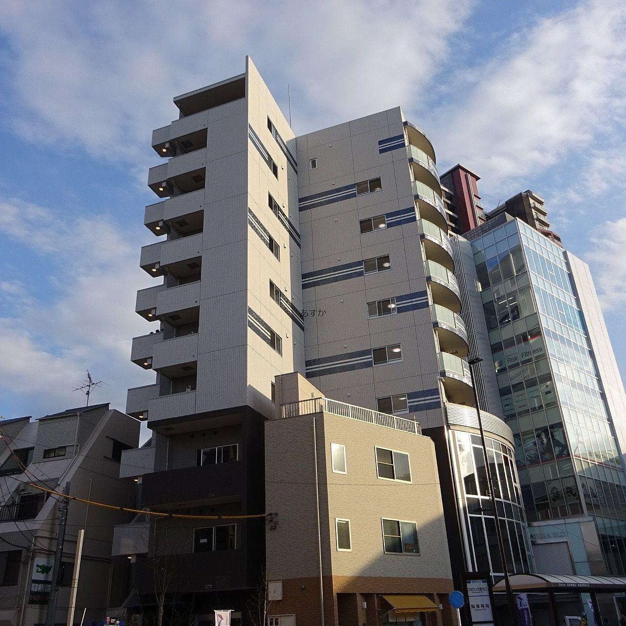 ひばりが丘駅前新築賃貸マンションが完成しました
