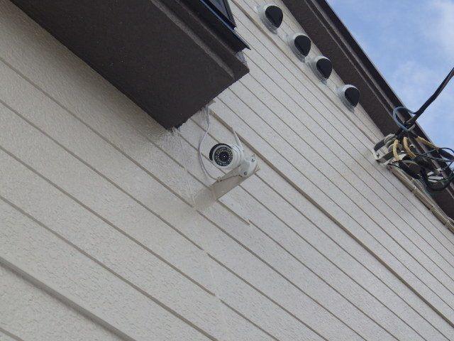 防犯カメラも2箇所設置
