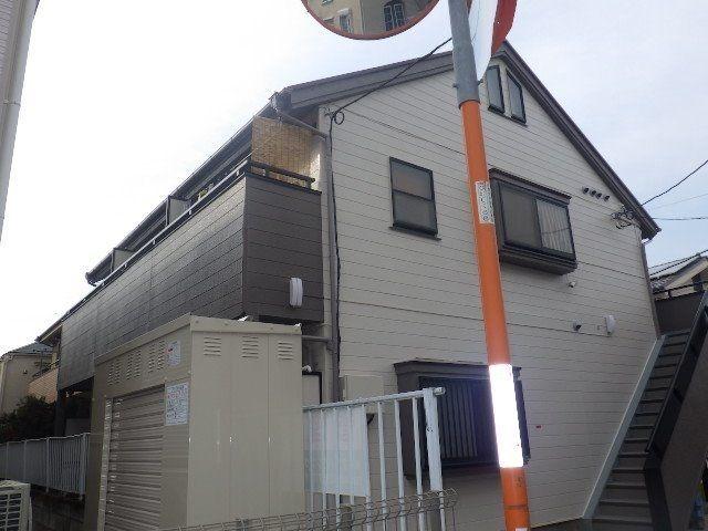 屋根、外壁、ベランダの塗装完成
