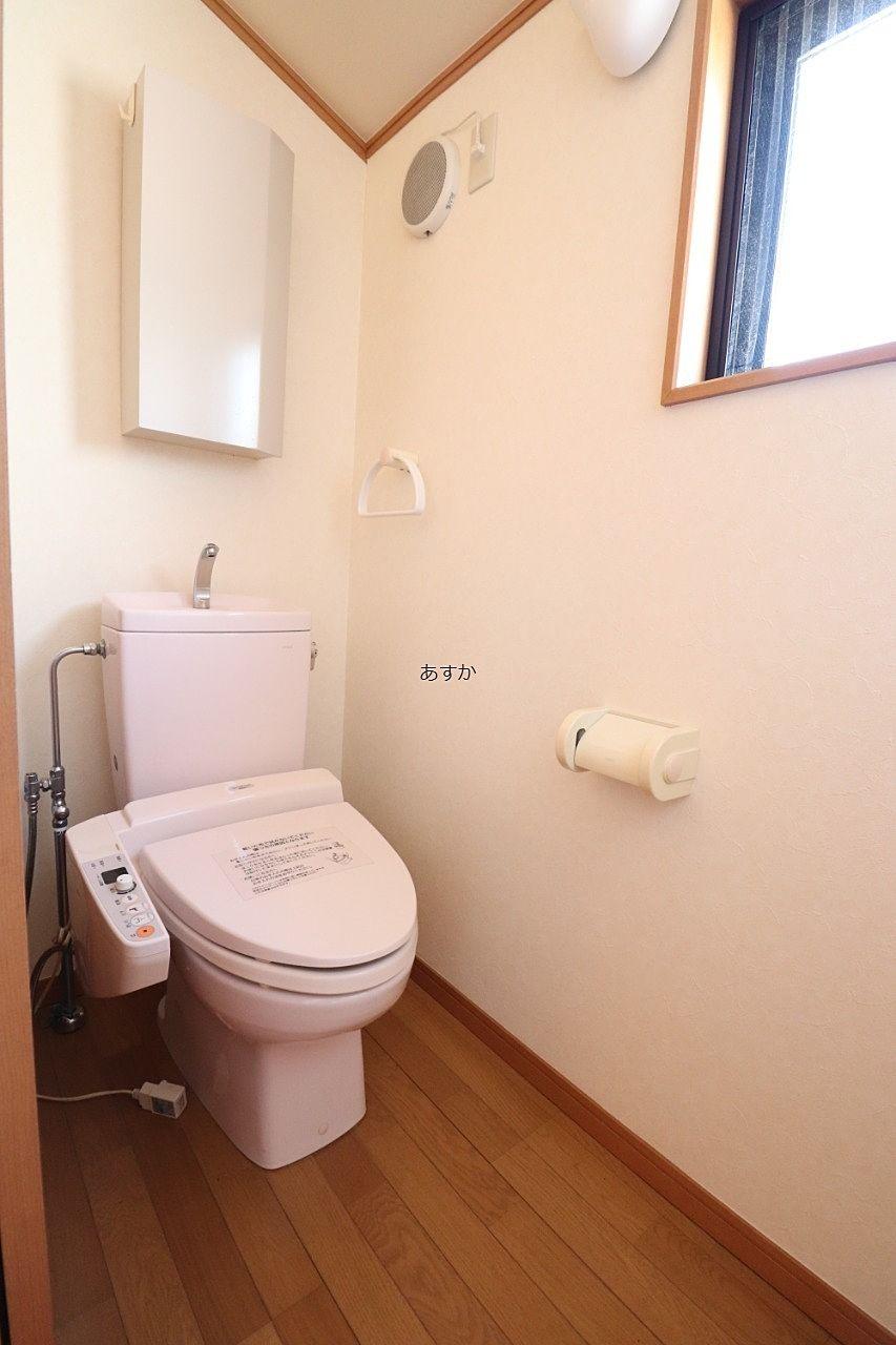 暖房洗浄便座付トイレ2基