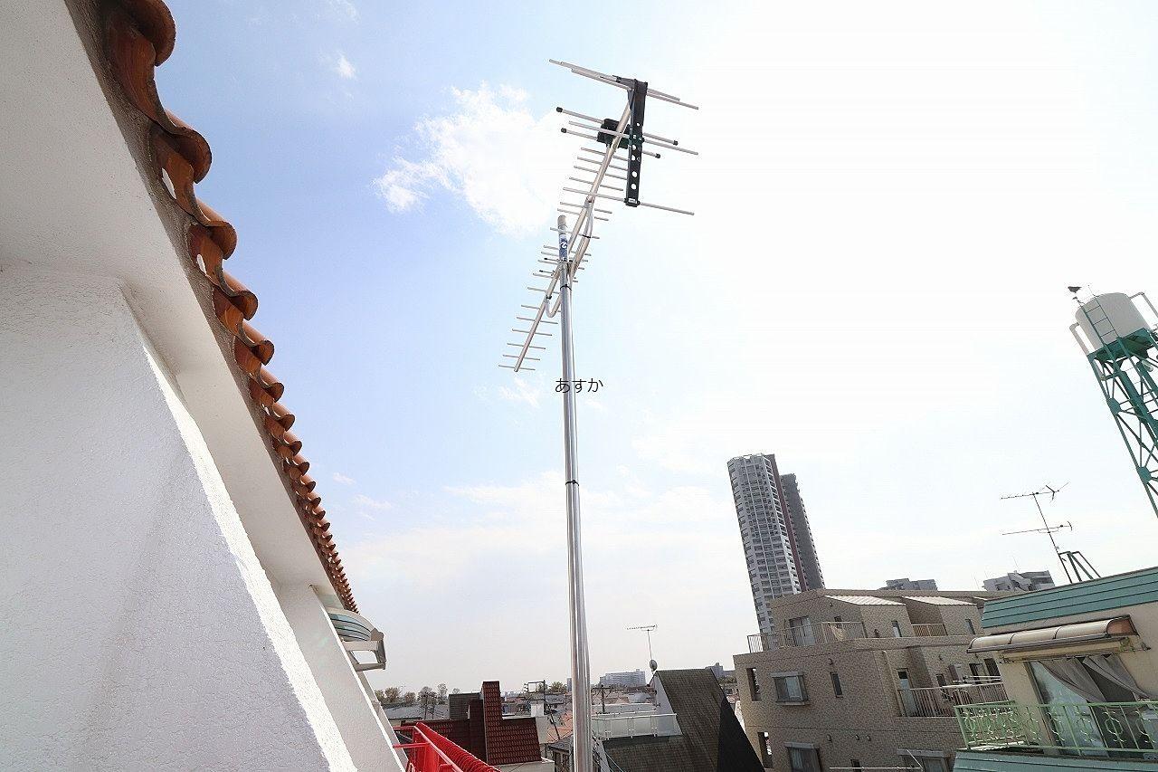 ケーブルテレビがありますが、新しいアンテナを設置