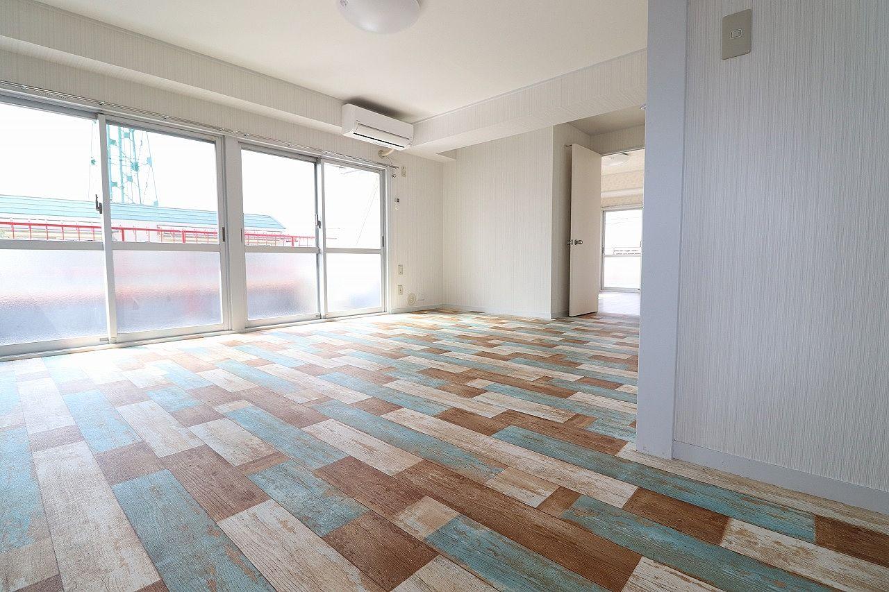おしゃれな床材を利用したフローリング