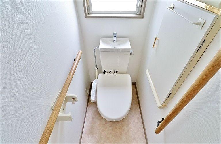 暖房洗浄機能付のトイレ