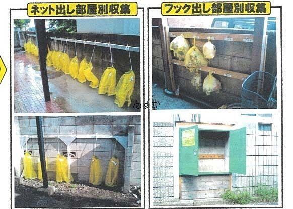 西東京市内で実施している集合住宅のゴミ置場