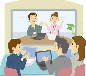 一部企業では既に行われているテレビ会議