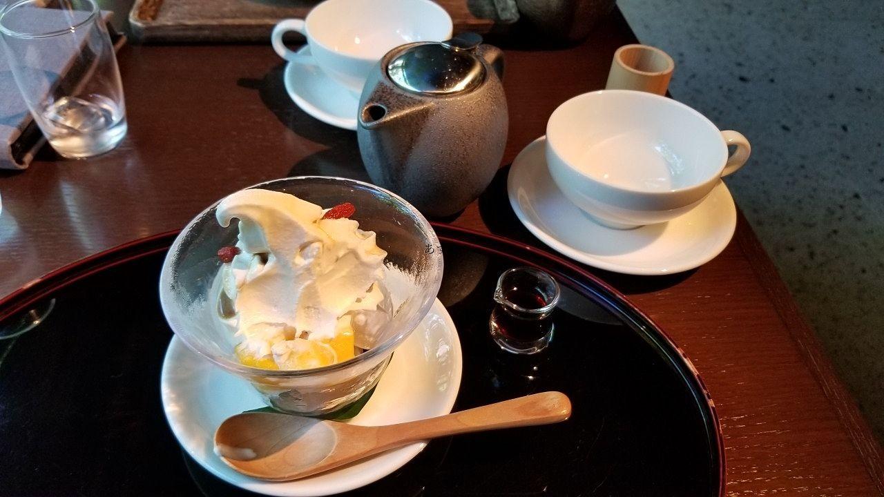 東京牛乳を使用したソフトクリーム