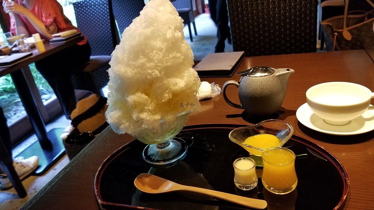 キンカンのかき氷