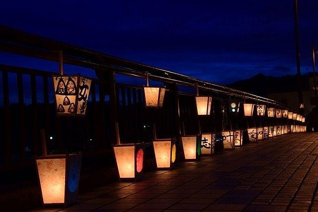 一晩だけの光の夜「灯りまつり」が開催されます