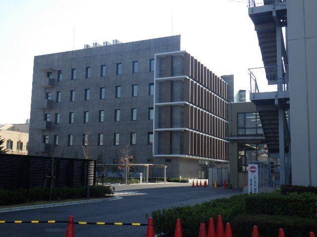 業務を開始した新しい庁舎