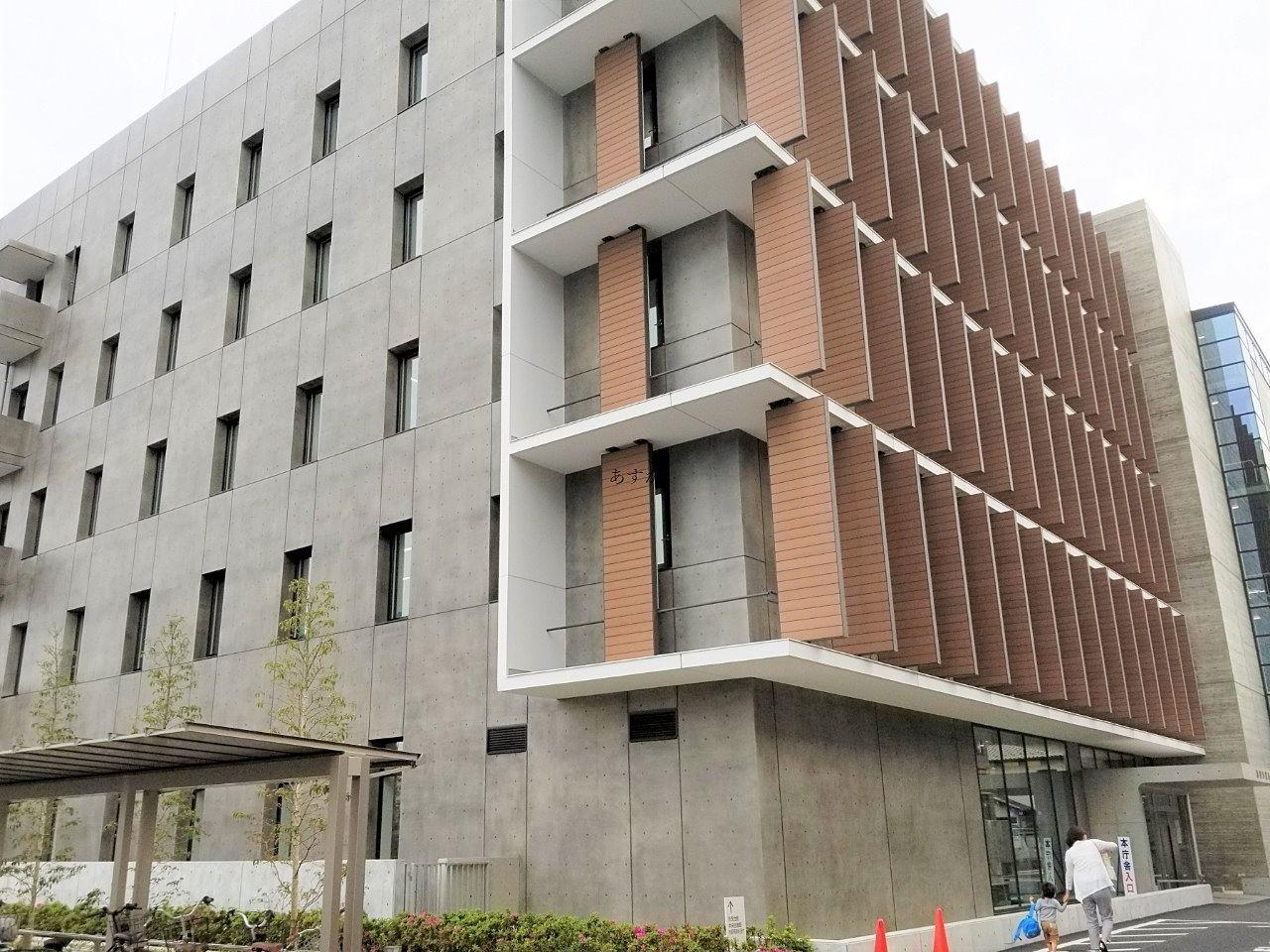 新しくなった市役所本庁舎