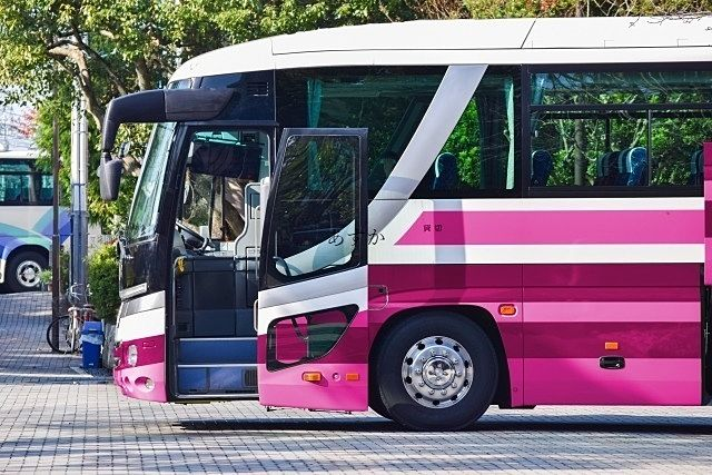ゆっくりとバス旅を楽しむ