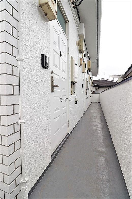 廊下の防水もきちんと