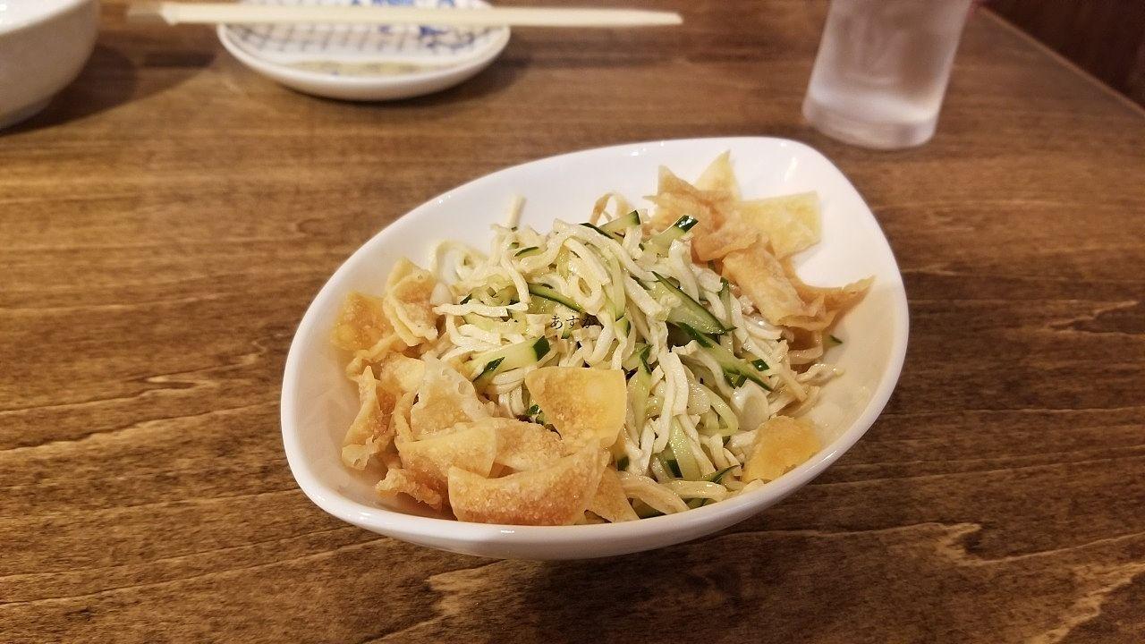 細切り豆腐の和え物
