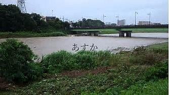 浸水被害が心配されます。