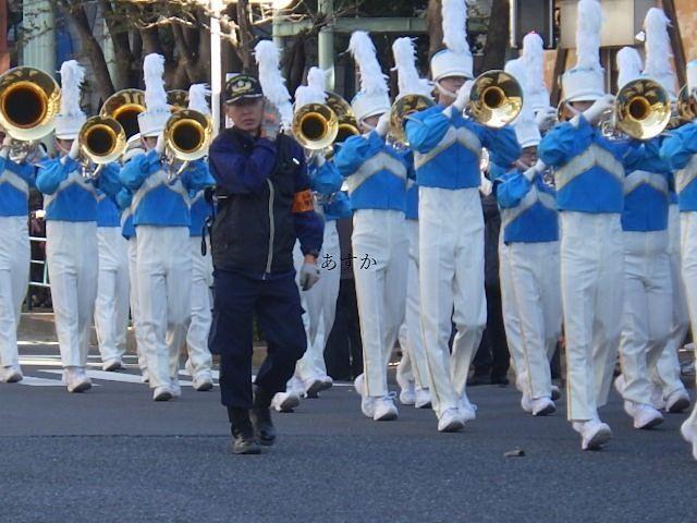 吹奏楽の見ごたえあるパレード
