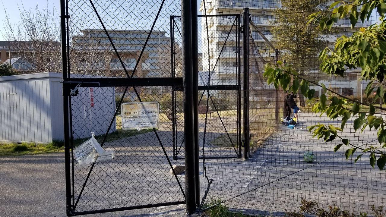 たくさんの子供がボール遊びをしています。