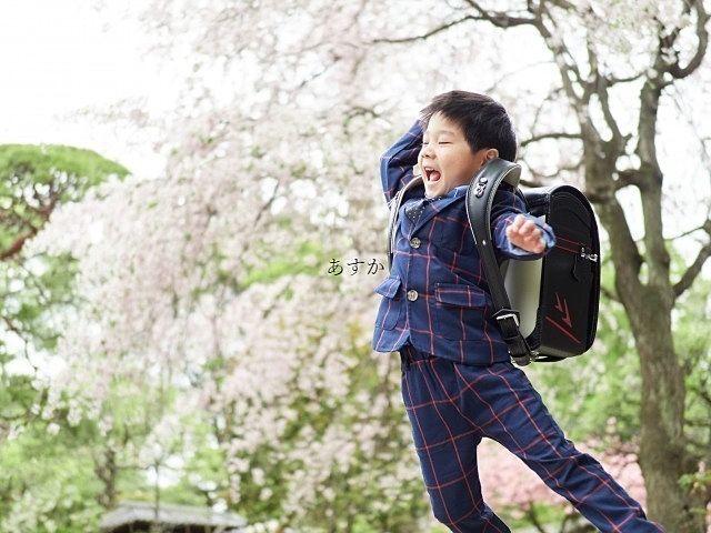 自粛の中の入学式。それでも元気な子供の笑顔が嬉しい
