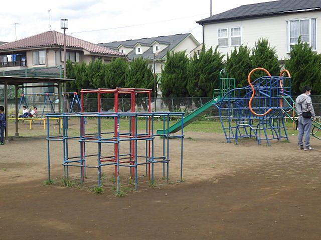 北側の子供用の場所