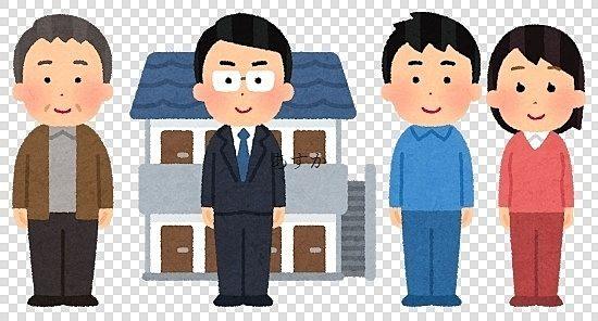 貸主と入居者の問題