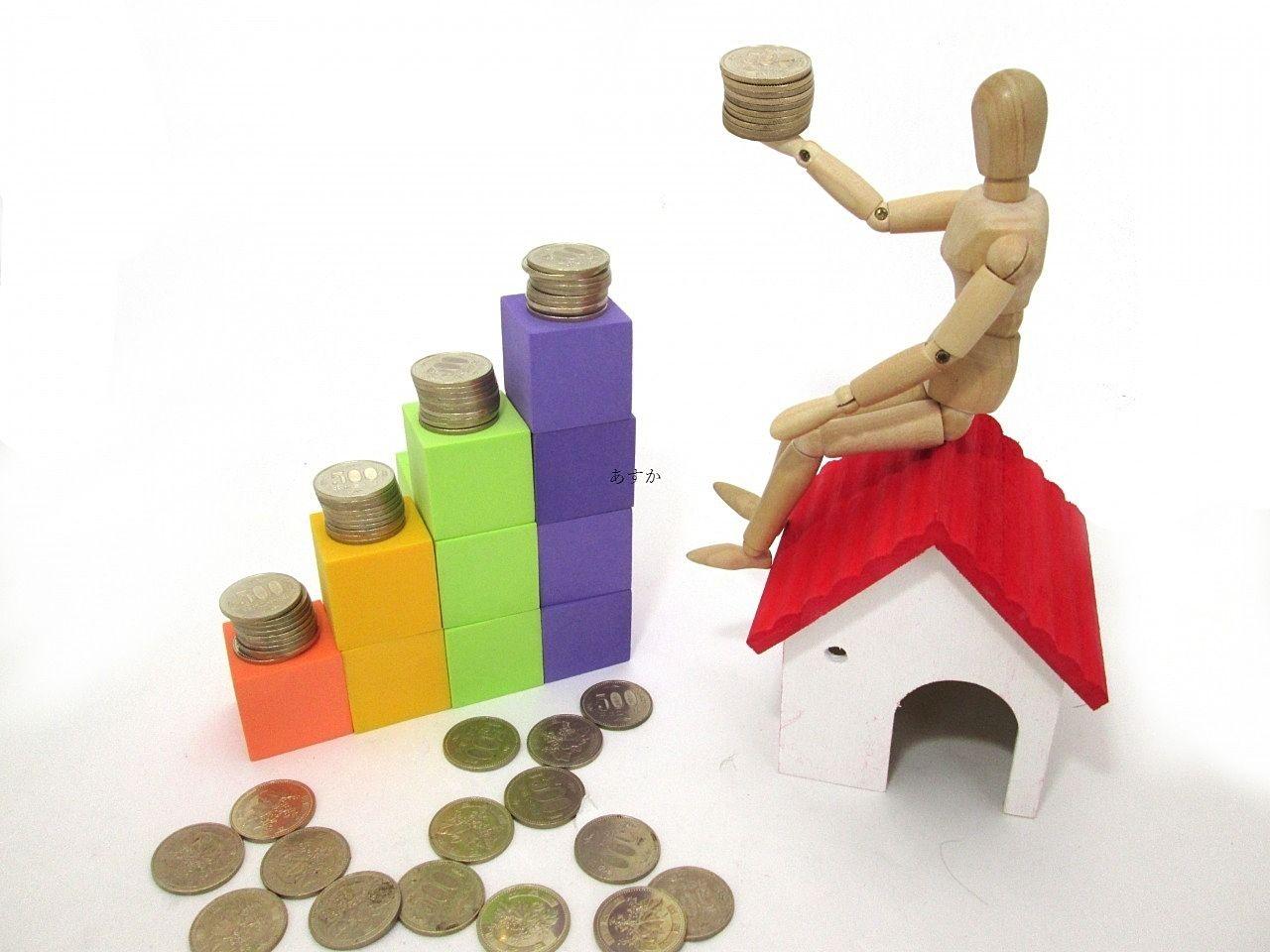 賃貸物件による収益のイメージ