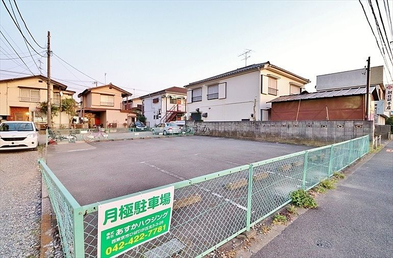 小金井街道沿い月極駐車場を募集しています。