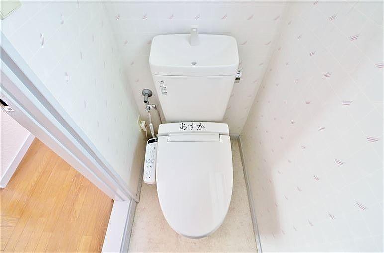 ウオシュレットのついたトイレ