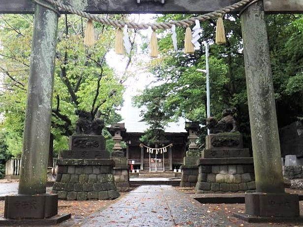 古くから保谷の守りである神社天神社