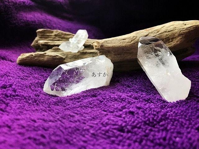 透明感のある水晶