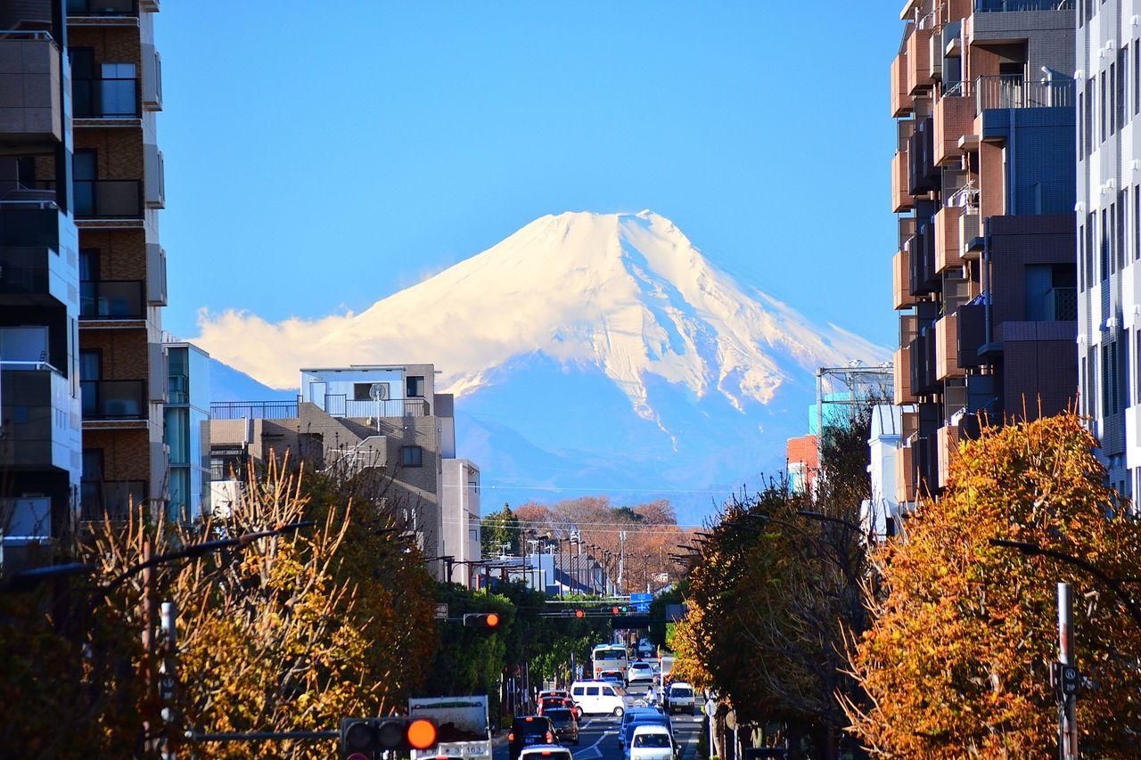 富士山が良く見えることでも有名