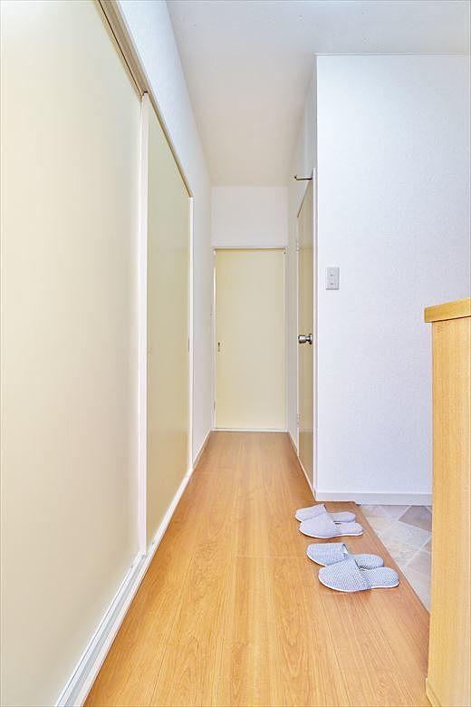 居室の独立性を高める廊下