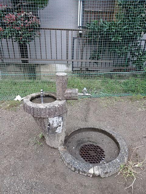 公園には手洗いや水飲みが必要