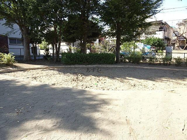 結構広い砂場です