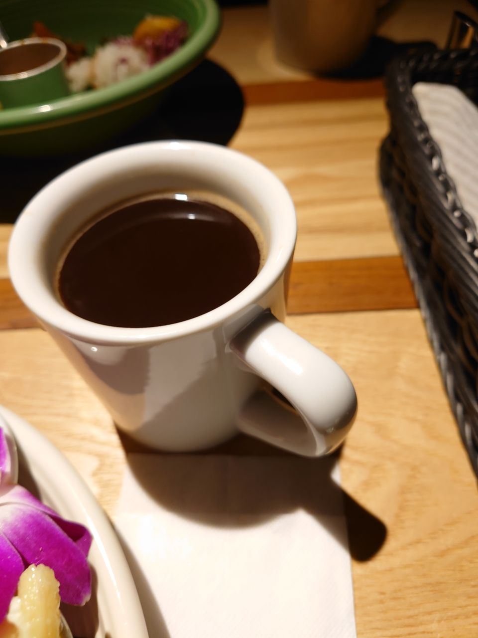 甘味と香りのあるコーヒー