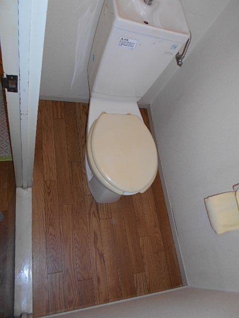 きれいになったトイレ