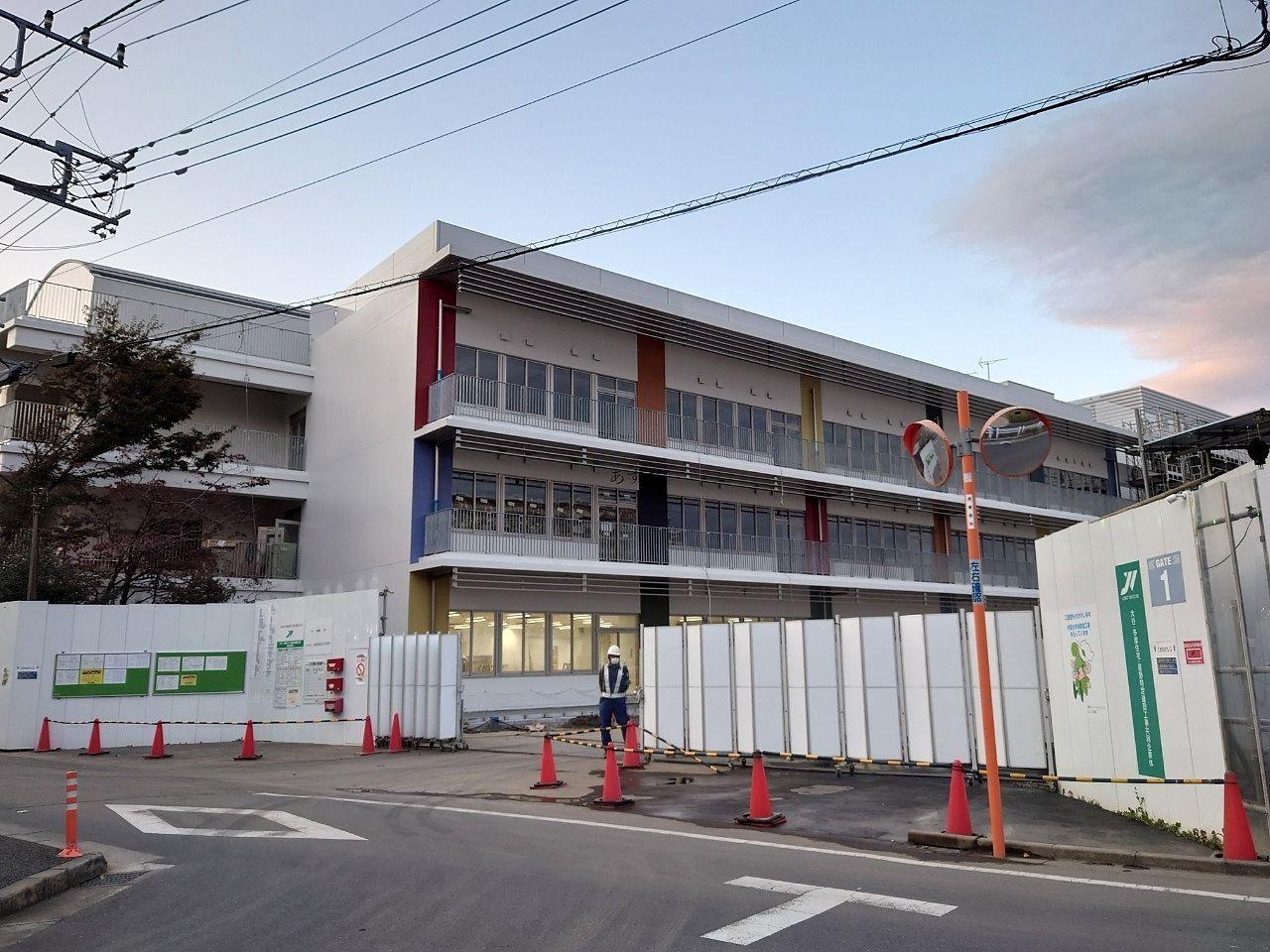 西東京市中原小学校新校舎へ移転