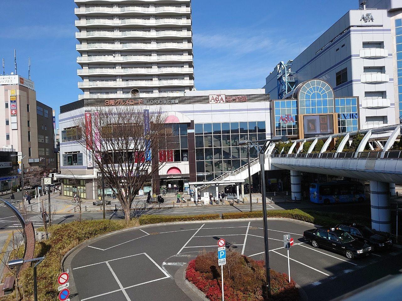 田無駅前の総合商業施設アスタも25周年
